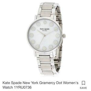 Kate Spade Watch- Gramercy Dot Silver